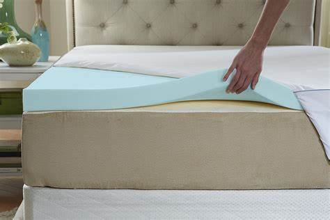 well designed memory foam mattress topper
